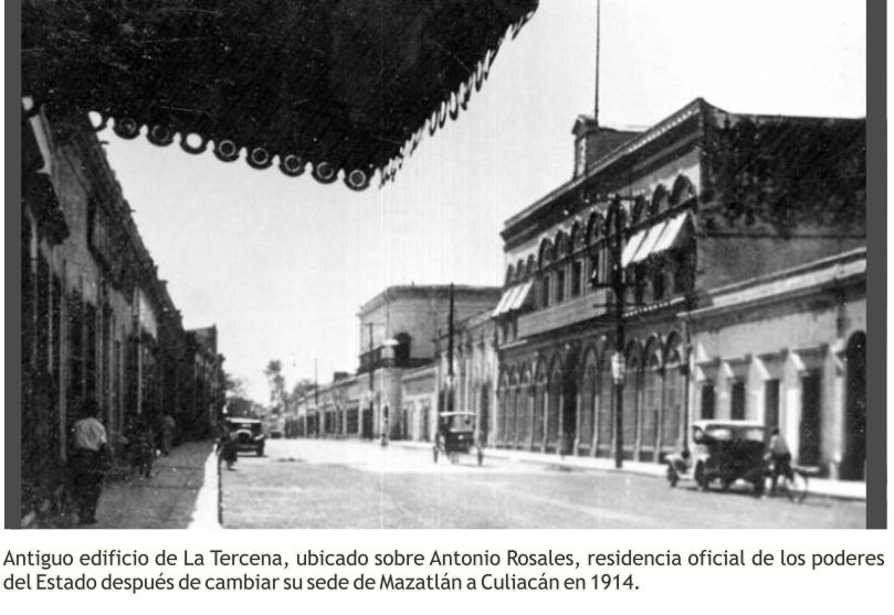 Antiguo edificio La Tercena
